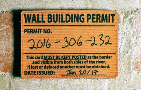Wall Permit Patch