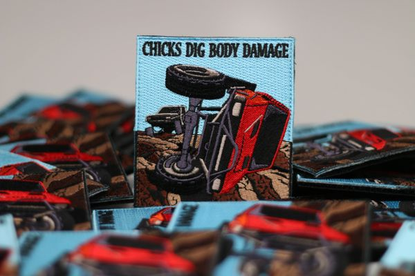 Chicks Dig Body Damage Patch