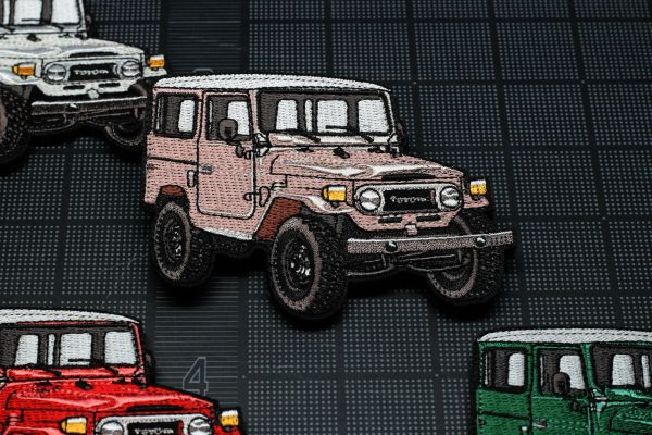 FJ40 Morale Patch - Tan