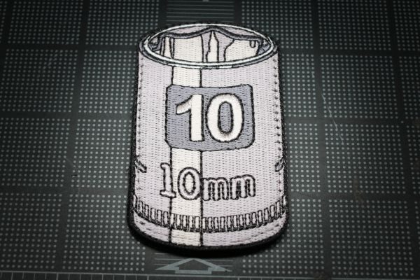 10mm Socket Morale Patch