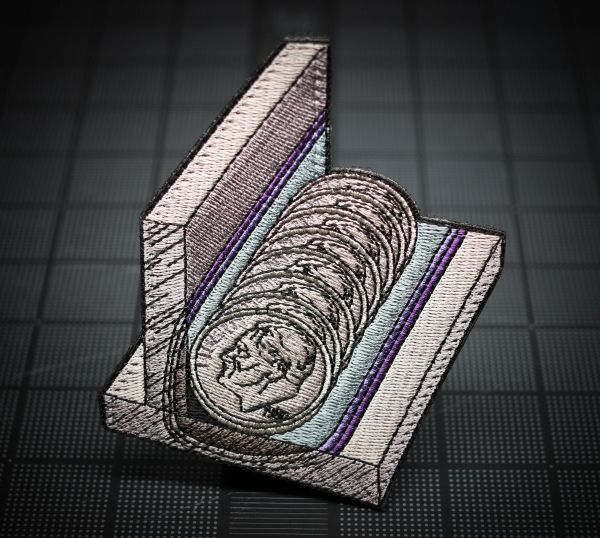 Fabricators V2 - Stacking Dimes Morale Patch