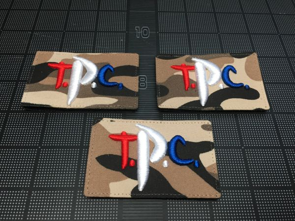 Toyota Patch Club (TPC) Logo Patch, RWB