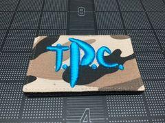Toyota Patch Club (TPC) Logo Patch, Trail Toys Blue