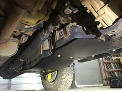 UHMW Gas Tank Skid Plate - FJ Cruiser
