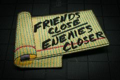 Friends Close, Enemies Closer Morale Patch
