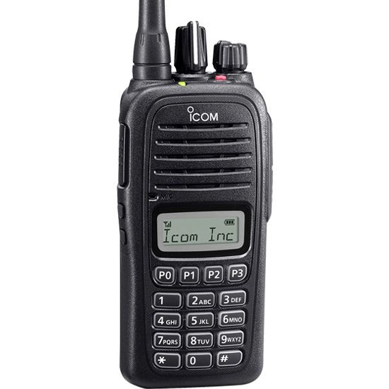 F1000T 09 86 136-174MHz VHF, 128CH, LCD, Full DTMF Keypad, Waterproof. Includes BC213 Rapid Charger