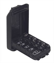 FBA-41 AA Back-up battery pack (holds 6 AA batteries) for VX-261, VX-450, EVX