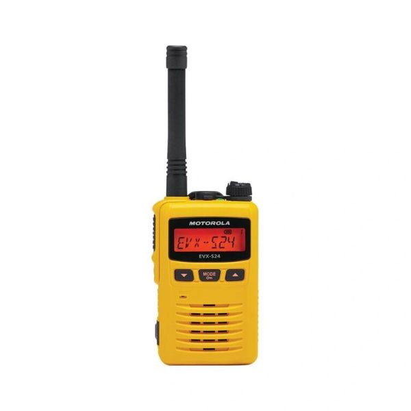 1 EVX-S24-U-YL-S 403-470MHZ UHF PACKAGE - YELLOW