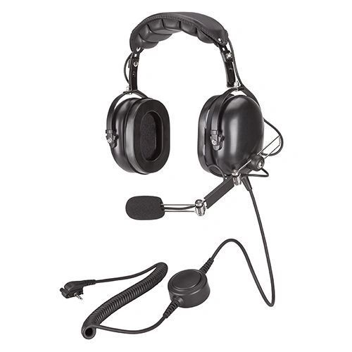MH-201A4B Heavy Duty Headset, Dual Muff, Over-the-Head