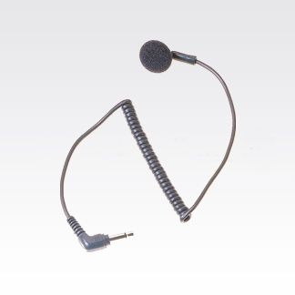 AARLN4885 Receive-Only Foam Earbud with 3.5mm plug to be used with Remote Speaker Microphone