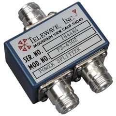 400-512 MHz 2-Way Splitter w/ N Females