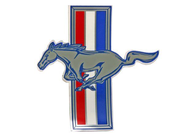 "RUNNING HORSE DECAL (64-73); 7"", LH"