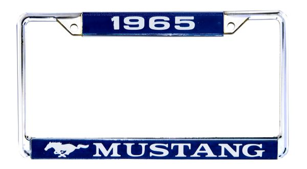 DATED MUSTANG LICENSE PLATE FRAME (65-70)