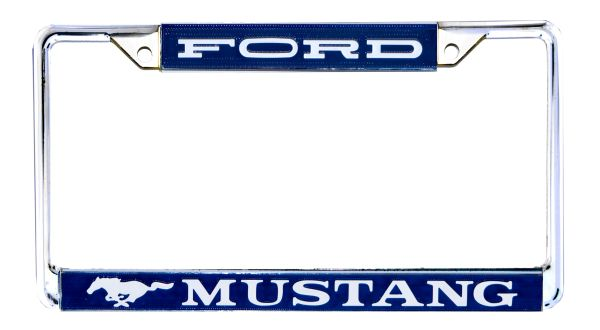 FORD MUSTANG LICENSE PLATE FRAME (64-73)
