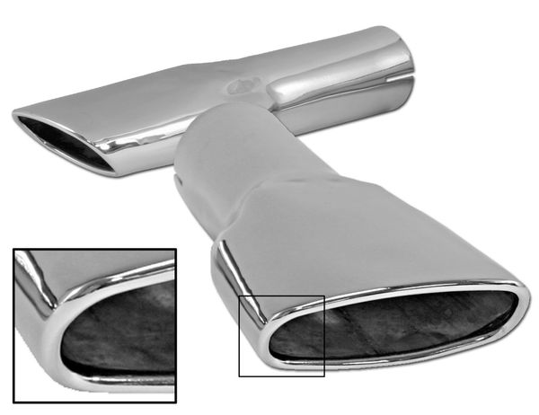EXHAUST TIPS (70): MACH 1; CONCOURS W/ CORRECT ROLLED TIP