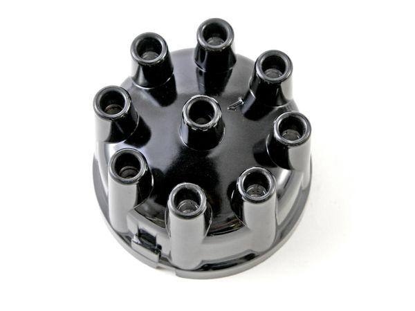 DISTRIBUTOR CAP (55-74): V8, BRASS