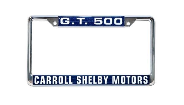 SHELBY G.T. LICENSE PLATE FRAME: 500 (64-73)