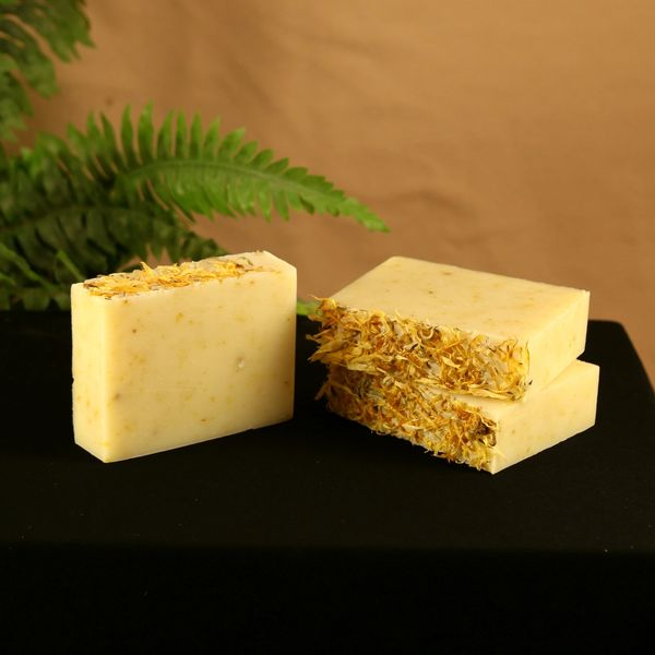 Walking on Sunshine (Orange Blossom & Magnolia) Handmade Soap