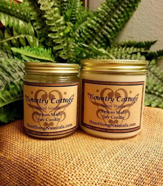 1. Soy Candles- 8 oz Jar