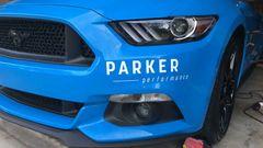 Parker Performance Window Decals