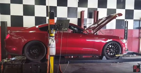 Ecoboost Mustang Pro Tuning via Cobb Accessport