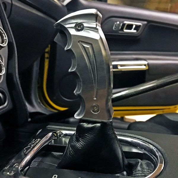 2015-2019 Ford Mustang S550 UPR Reaper Pistol Grip Billet Automatic Shift Handle GT Coyote Cyclone V6 Ecoboost Turbo