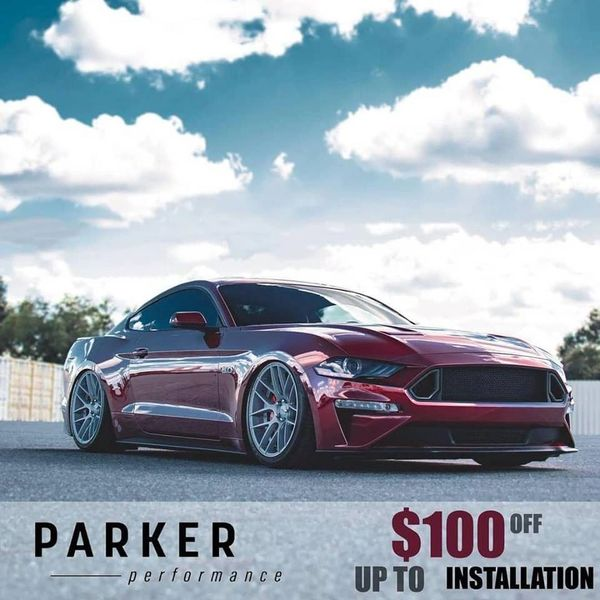 2015-2019 Ford Mustang S550 Airlift Performance Airbag Suspension Setup