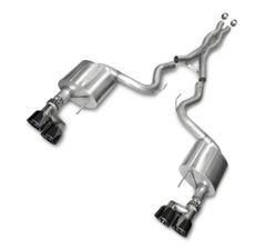 2015+ Mustang S550 Corsa Xtreme 3 inch Catback Exhaust with Black Quad Tips