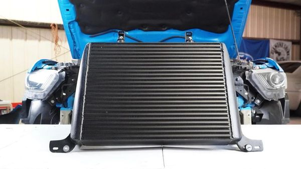 CV Fabrication Race Core Front Mount Intercooler - CVFab FMIC - 2015+ Ecoboost Mustang S550