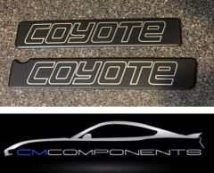 CM Components Custom Billet Coil Covers for Gen 1 Coyote Gen 2 Coyote (2011-2017 Coyote 5.0L)