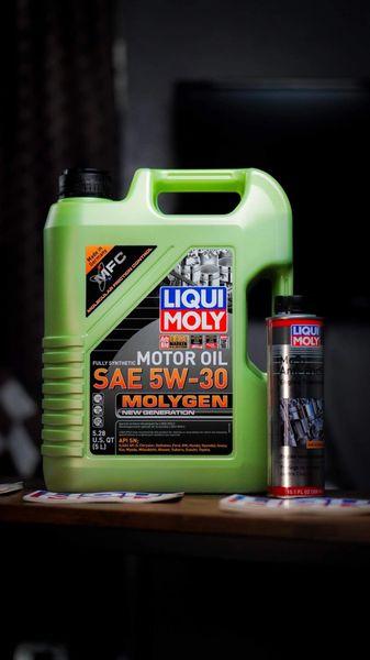 Liqui Moly SAE 5W-30 Molygen 5-Liters / 5.28 Quarts