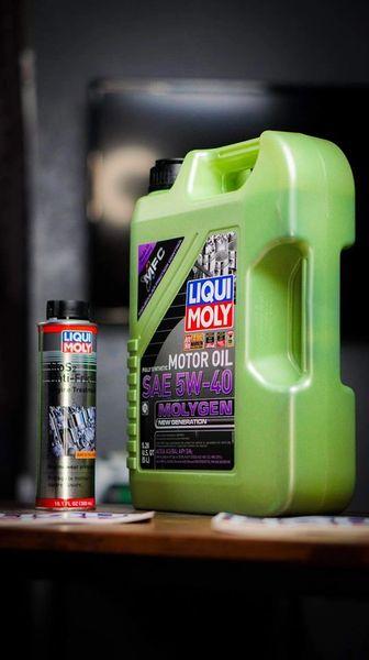 Liqui Moly SAE 5W-40 Molygen 5-Liters / 5.28 Quarts