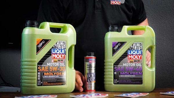 Liqui Moly SAE Molygen Oil Change kit.