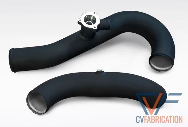 CVF Aluminum Intercooler Charge Pipe Kit (2015+ Ford Mustang EcoBoost)