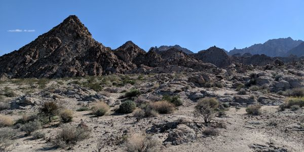 Hiking in the Coxcomb Mountains, Joshua Tree National Park