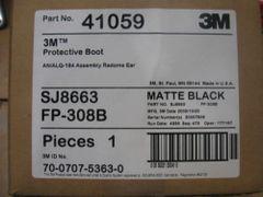 3M 41059 PROTECTIVE BOOT MATTE BLACK NEW IN BOX