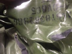 M101 OLIVE DRAB TRAILER TOP CARGO COVER 8382966, 2540-00-513-9794 NOS