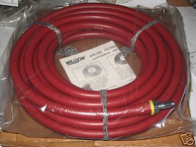 WILSON AIRLINE HOSE R714B-25 WITH FITTINGS NEW