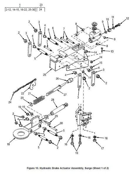 M101 DRAWBAR RING COUPLER 12356009 NOS