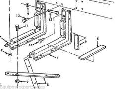 M939 FUEL TANK MOUNTING BRACKET 12277030, 5340-01-112-2169 NOS