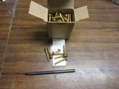 1 BOX OF 50 WOOD SCREWS MS35493-277 NOS