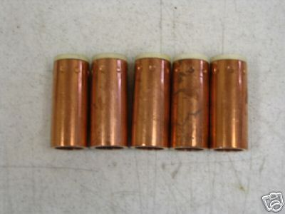 SET OF 5 MK PRODUCTS GAS CUPS SIZE 10 FOR MK3A WELDING TORCH NOS