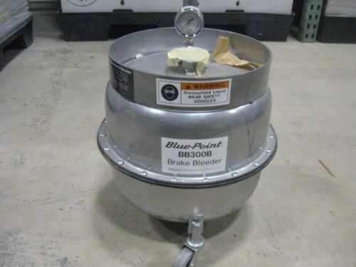 BLUE POINT BB300B BRAKE BLEEDER GREAT CONDITION