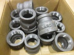 "2 WARD 1-1/2"" X 2"" STEEL PIPE REDUCERS NOS"