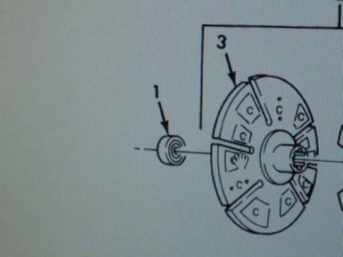 M809 5 TON CLUTCH PLATE BEARING 6060110 NOS