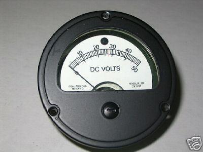 3 KW GENERATOR CONTROL BOX DC VOLTMETER 13208E8535 NOS