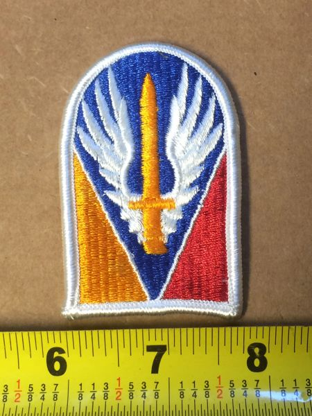 US ARMY JOINT READINESS TRAINING ARM SLEEVE INSIGNIA MIL-DTL-14652B NOS