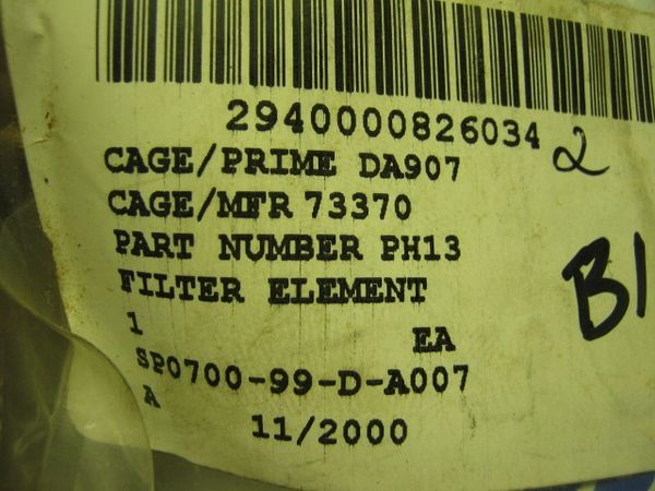 M998 HUMMER VARIOUS BRAND OIL FILTER 5578052, PH13, 6437946, LF11, FL12 MILITARY NOS