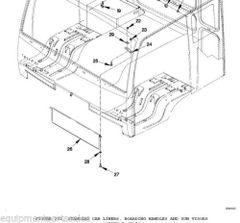 M1078 WINDOW VISOR 12422596, 2540-01-492-4134 NOS