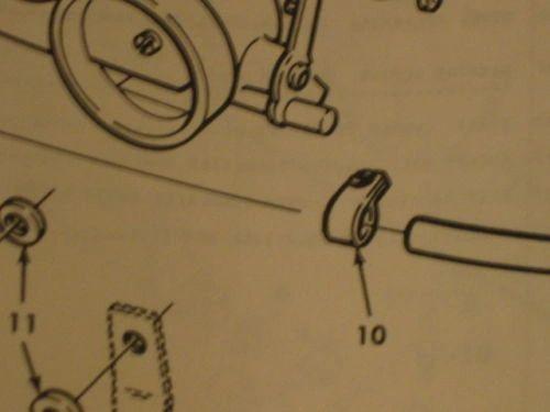 10 M151 JEEP CARBURETOR FUEL INLET CLAMPS 11662913, 4730-01-109-8001 NOS